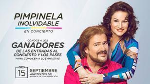 ¡Conoce a los ganadores de las 5 entradas dobles y pases para conocer y asistir al concierto de dúo Pimpinela!