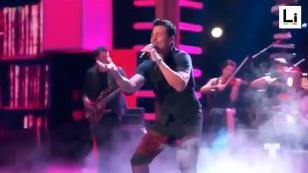 Chayanne presentó en los Premios Billboards su nuevo sencillo 'Di qué sientes tú'
