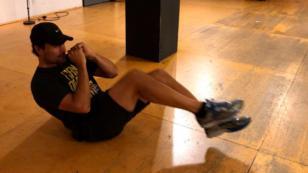 Chayanne sorprende con exigente rutina de ejercicios