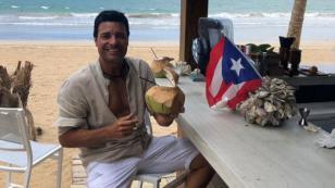 Chayanne de vacaciones en Puerto Rico a espera de su cumpleaños