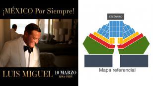 Concierto Luis Miguel en Lima: Aquí el precio de las entradas