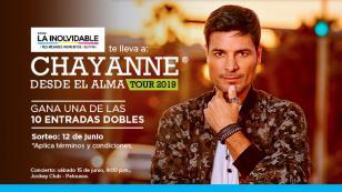 ¡Gana una de las 10 entradas dobles al concierto de Chayanne!