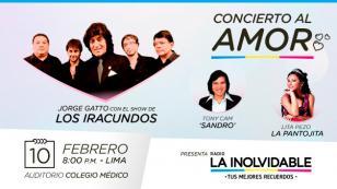 Conoce todos los detalles del 'Concierto al amor' con Jorge Gatto y el show de Los Iracundos
