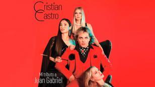 Cristian Castro lanza disco tributo a Juan Gabriel