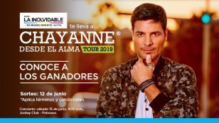 ¡Estos son los 10 ganadores que verán a Chayanne en concierto!