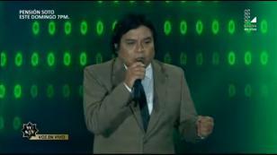 El imitador de Eduardo Franco cautivó al público de 'Yo soy' con esta presentación (VIDEO)