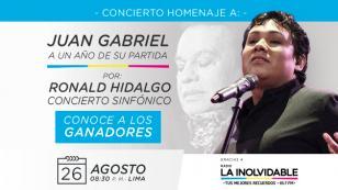 ¡Ellos son los afortunados que ganaron entradas para el concierto Homenaje a Juan Gabriel!
