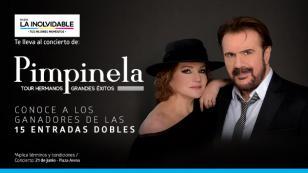 ¡Ellos son los ganadores de las 15 entradas dobles para el concierto del dúo Pimpinela!