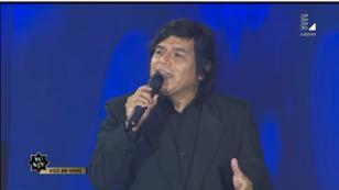 Imitador de Eduardo Franco de Los Iracundos convenció al jurado de 'Yo soy' (VIDEO)