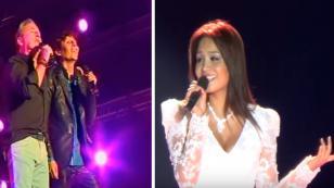Los imitadores de Myriam Hernández y Ricardo Montaner estarán juntos en concierto