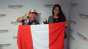 La 'Isabel Pantoja peruana' visitó 'La Hora del Lonchecito' con Koky Salgado