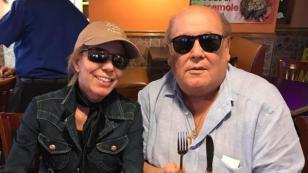 Jeanette se reunió con Leo Dan en Houston (FOTOS)