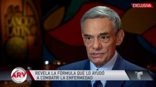 """José José: """"El apoyo del público fue fundamental para afrontar esta enfermedad"""""""