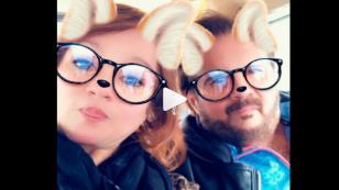 Así fue la llegada del dúo Pimpinela a Lima