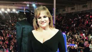 Lucía Galán y una joven cantaron juntas en el concurso 'Genios de la Argentina'