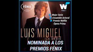 'Luis Miguel, LA SERIE' ha sido nominada a los premios Fenix como mejor serie