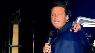 Luis Miguel se emocionó hasta las lágrimas en su concierto en el Jockey Club