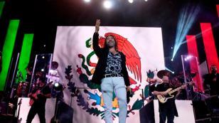 Así conmemoró las Fiestas Patrias mexicanas el gran Marco Antonio Solís
