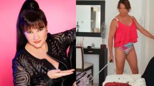 Mira la imitación de Lucía Galán del dúo Pimpinela que alborotó las redes