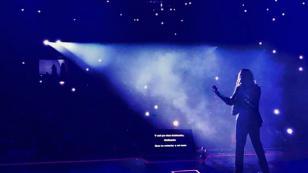Myriam Hernández enamoró a sus fans en su concierto en Ecuador