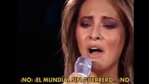 ¿La cantante chilena Myriam Hernández le dedica una canción a Paolo Guerrero?
