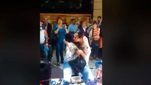 Myriam Hernández sorprendió a mujer invidente y cantaron a dúo