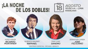 Vuelve a Lima LA NOCHE DE LOS DOBLES