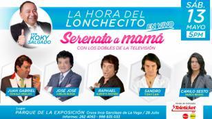 ¡Disfruta de los éxitos de Juan Gabriel, José José y Camilo Sesto en un superconcierto!