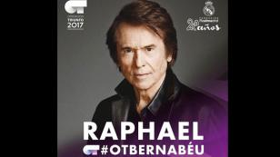 Raphael se presentará en un concierto benéfico en Madrid