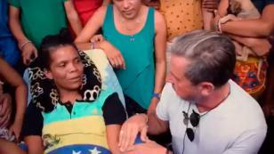 Ricardo Montaner les brindó su apoyo a venezolanos exiliados en Colombia
