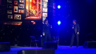 ¡Lleno total! Así se vivió el concierto del dúo Pimpinela en Perú