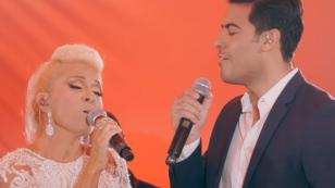 Yuri presenta su nueva canción con Carlos Rivera